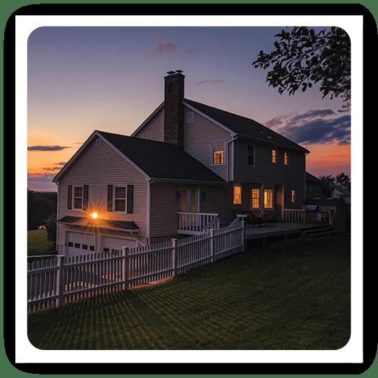 estate sunset